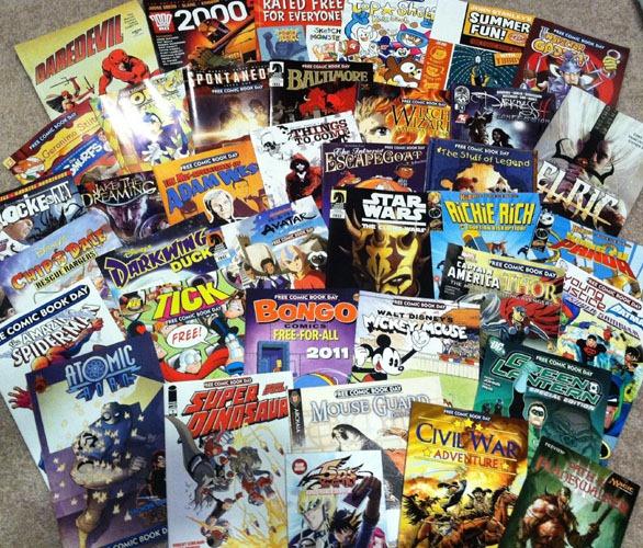 Valiant Free Comic Book Day: Free Comic Book Day 2011