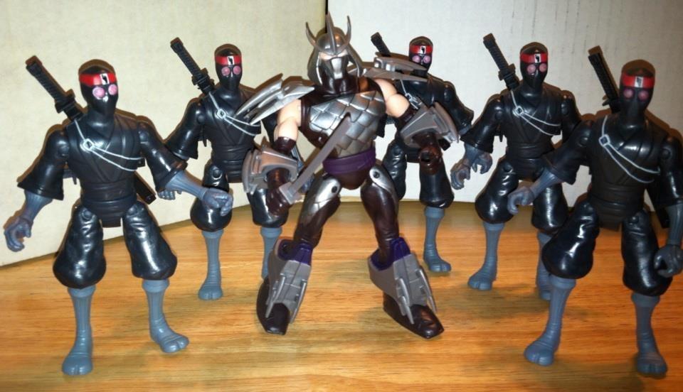 Teenage Mutant Ninja Turtles Shredder Toy : Foot comic reviews by walt