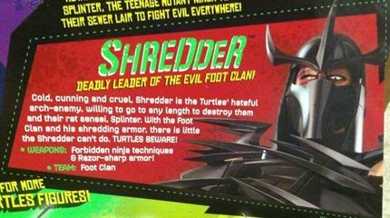 Profile(Shredder)