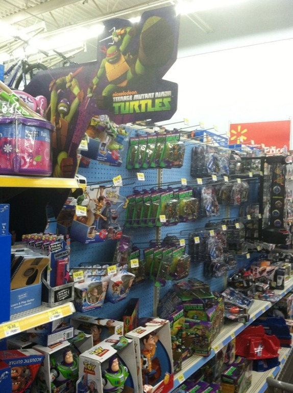 Target Toy Walmart : Tmnt at walmart and target comic reviews by walt