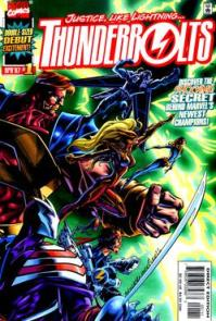 Thunderbolts #1 cover