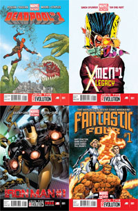 Marvel Now covers