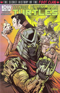 Secret History of the Foot Clan #1 cover