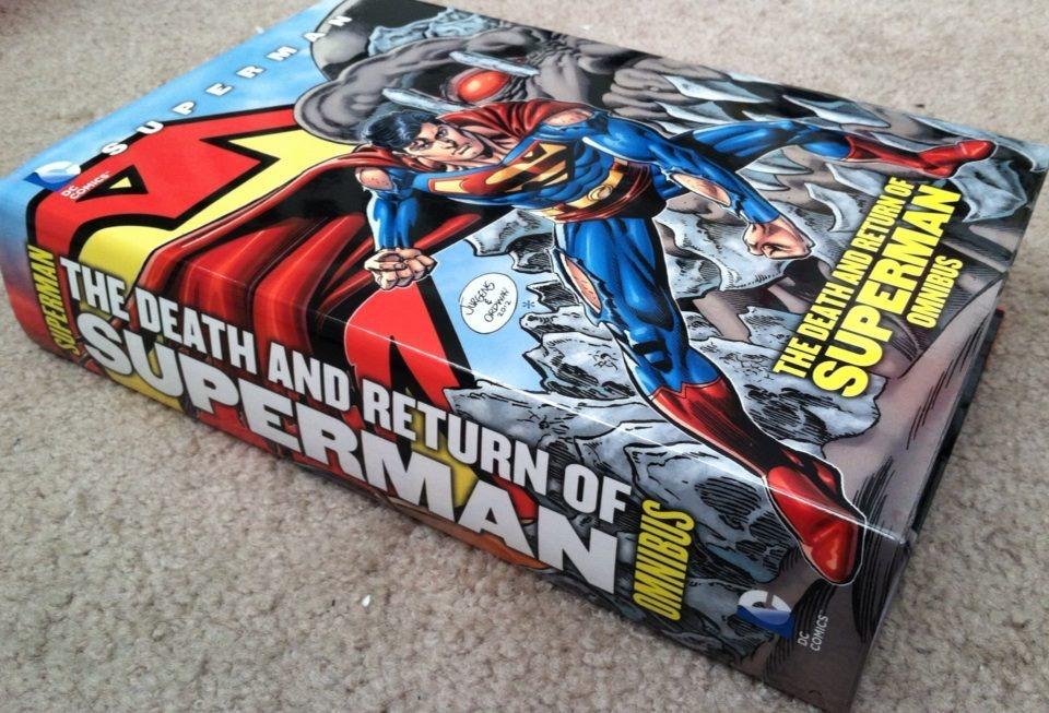 [DC COMICS] Publicaciones Universo DC: Discusión General v2 - Página 9 Deathandreturnofsupermanomnibus