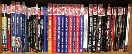 My Spider Man And Thor Collections Are Relatively Small Mans Basically All From Bargain Bins The Oversized Ultimate Ultimates