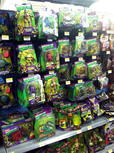 Toys At Walmart : Tmnt toys at walmart early september comic