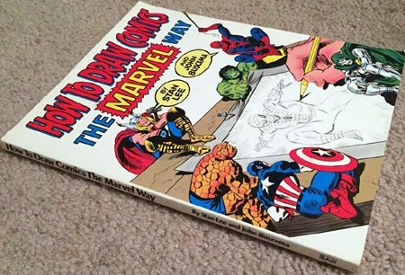 how_to_draw_comics_the_marvel_way_book