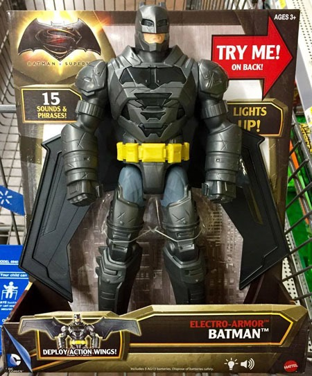 action_wings_electro_armor_batman_front & Batman v Superman | Comic Reviews by Walt