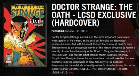 doctor_strange_the_oath_lcsd_hardcover_solicit