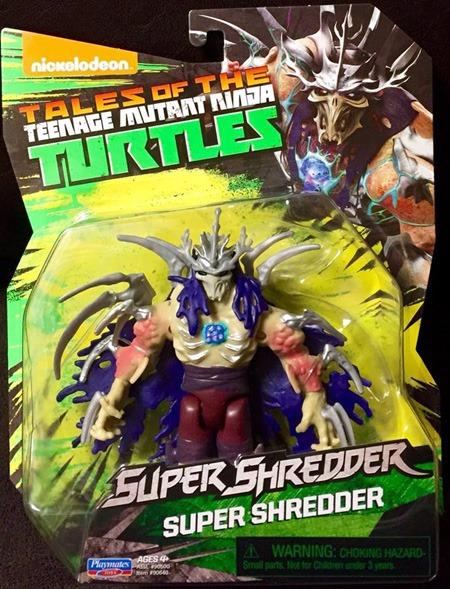 New Tmnt Toys Super Shredder Crimson Leader And Muckman Comic