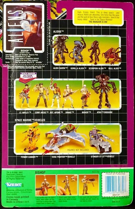 Aliens_Kenner_Bishop_back