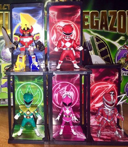 Mighty Morphin/' Power Rangers Tamashii Buddies Green Ranger Figure Bandai