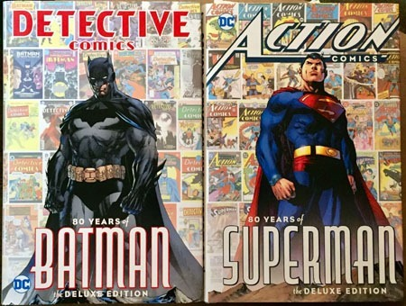 80_years_of_Batman_and_Superman_books